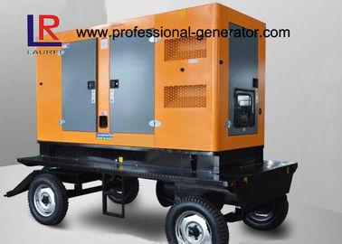 China Convenient Type 300kw Diesel Portable Cummins Generator , Ultra Silent Trailer Mounted supplier