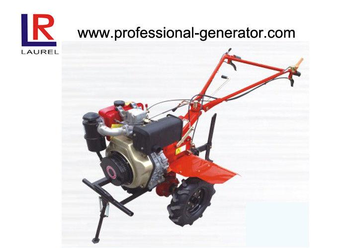 Rotary Tillage Fertilizing Small Garden Tiller , Diesel Engine Yard Machine  Tiller