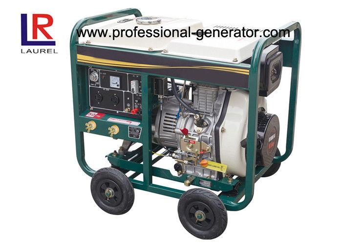 4 stroke portable 5kw diesel generator small diesel power rh professional generator com Vintage General Electric Genset Generator Onan Genset