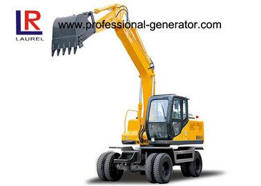 China 0.5cbm Vibrating Plate Compactor 12.5 Tons Digging Wheel Mini Construction Excavator distributor