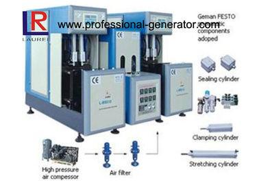 China 4 - Cavity Semi - automatic Bottle Blow Moulding Machine distributor