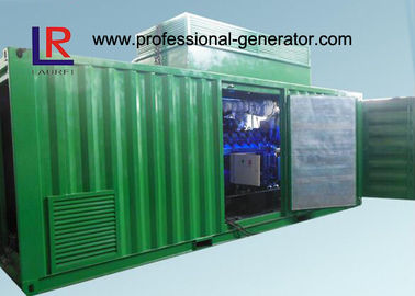 China 8 Cylinder AVR Brushless Natural Gas Generators Cogeneration Set 500kw with NPT Patent distributor