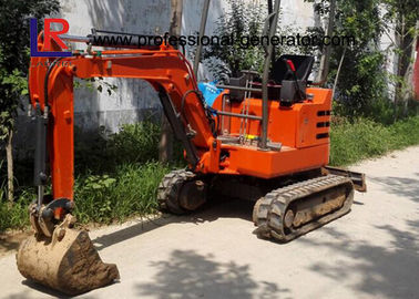 China Walk Behind 1800kgs Mini Excavator with Cabin / Mini Digging Machine Full Hydraulic Type distributor