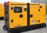 40kw Power Silent Type 50kVA Electirc Diesel Generator 220V / 380V , with Cummins 4BTA3.9-G2 Engine