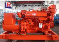 Three Phase Brushless Emergency Marine DC Generator Set 90kw for Boat with CCS